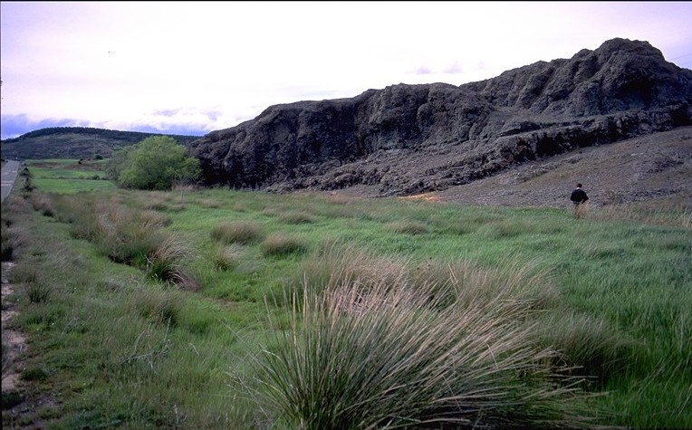 Cerros volcanicos de la miñosa