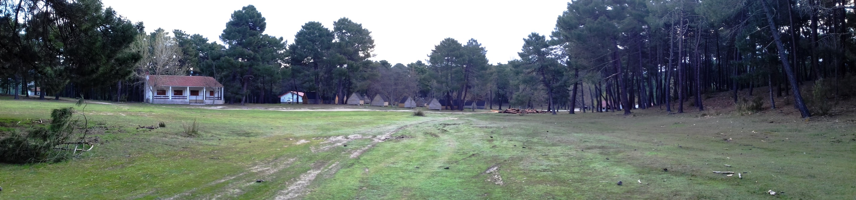 Vista de la Explanada de los campamentos