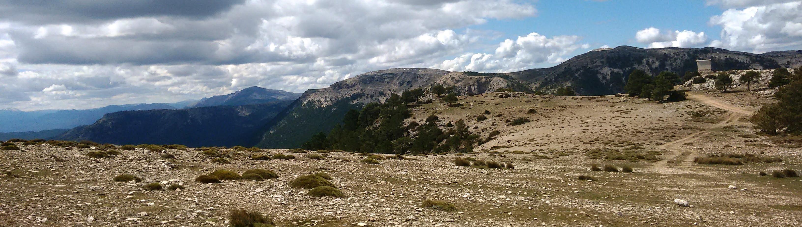 Zona de calar de la Sierra del Cujón