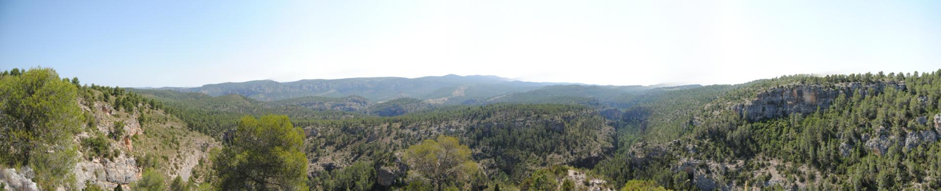 Vista desde el Puntal de las Palomas