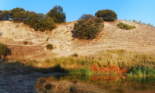 Laguna Negra a finales de verano