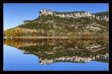 Reflejo.David Serrano Gismero.Mirador de la laguna de Uña.Parque Natural de la Serrania de Cuenca. Cuenca