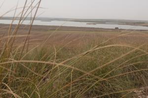 Panorámica de la Laguna de Peñahueca