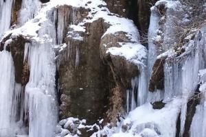 La cascada helada