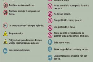 NORMAS DE SEGURIDAD Y CONSERVACIÓN DEL HUECO DE LOS CHORROS