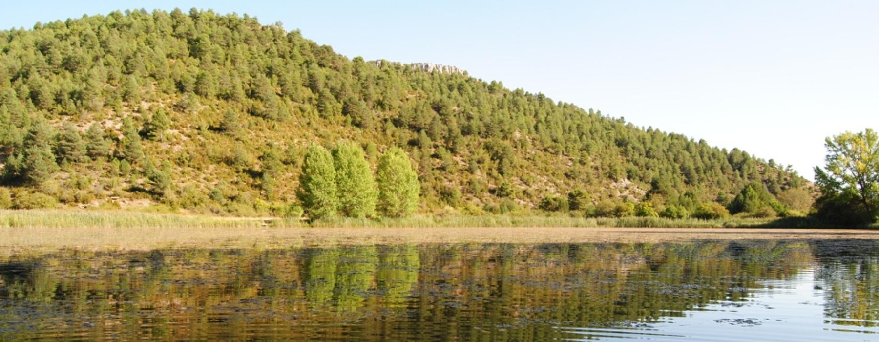 Vista de la laguna del Marquesado